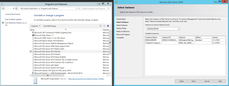 SQL Server 2014 SP1